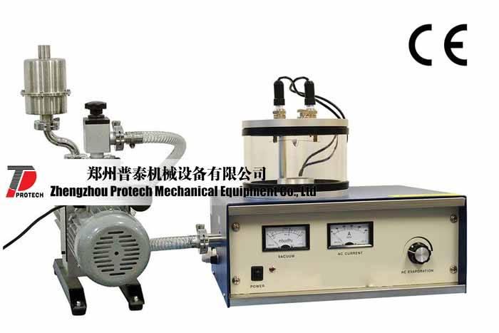 Compact Vacuum Carbon & Metal Evaporating Coater --- PT-1100X-SPC-15E-LD