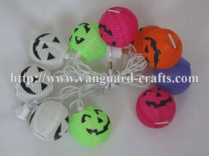 Nylon Lantern LED HALLOWEEN Light Strings