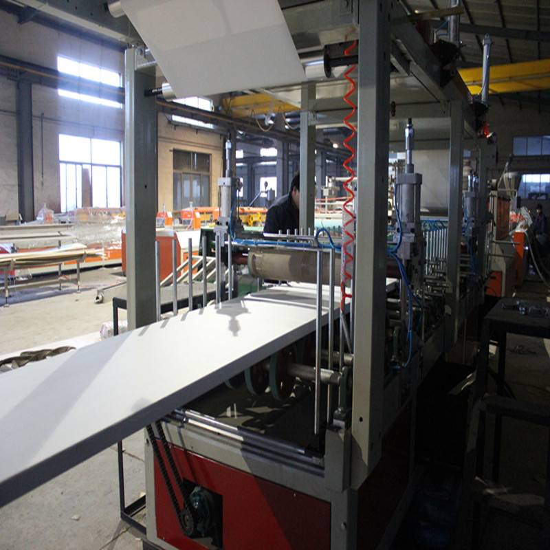 PVC WPC Building Template/Foam Board Extrusion Line