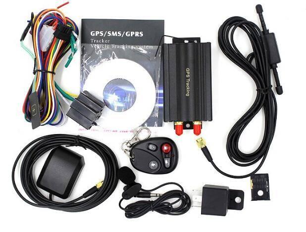 Car GPS Tracker TK103 GPS/GSM/GPRS Vehicle Tracking Device Remote Control Car Alarm GPS 103 Quadband
