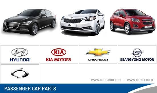 Spare Parts for Korean Passenger Car