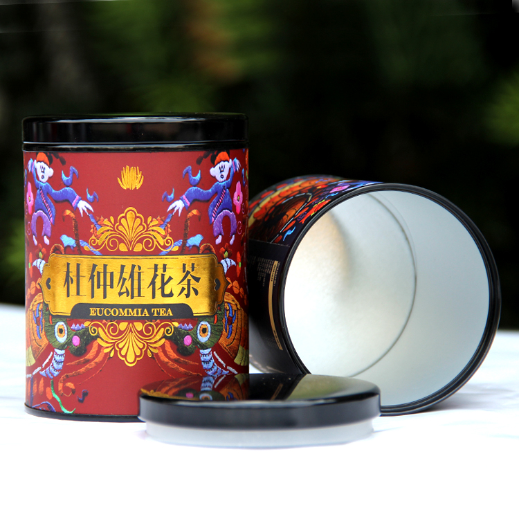 Customized Food Grade Paper Can for Dry Food, Nutlet, Snack, Coffee, Milk Powder Packaging