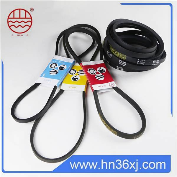New Products Raw Material Strong Durability Narrow V-Belt