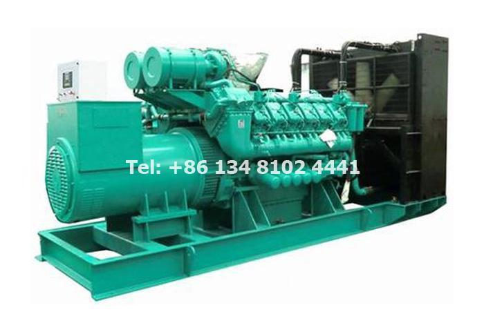 1000 KW 1250 KVA Perkins Diesel Generator