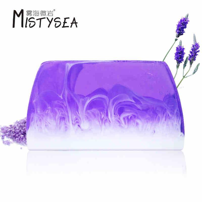 Hot selling lavender milk essential oil handmade soap 110g/pcs for Bulk buying, Wholesale, OEM / ODM