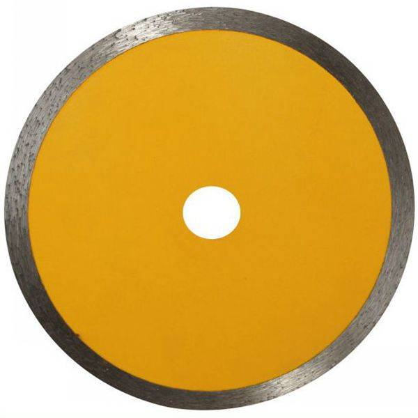 Circular Continuous Rim Diamond Saw Blade for Cutting Ceramic Tiles