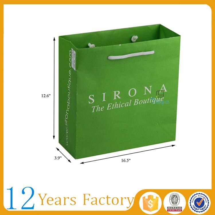 pantone kraft paper designer shopping bags