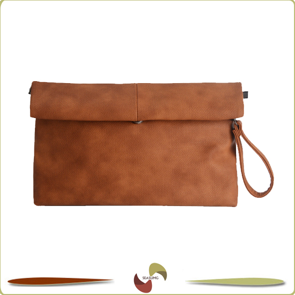Wholesale Soft PU Clutch Bag with Waist strap