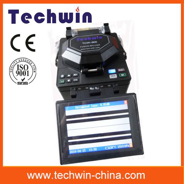 Techwin core-aligning fiber splicers TCW-605