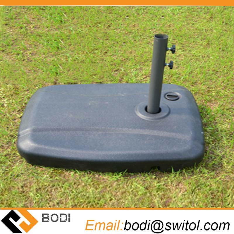 umbrella base plastic water tank sand tank