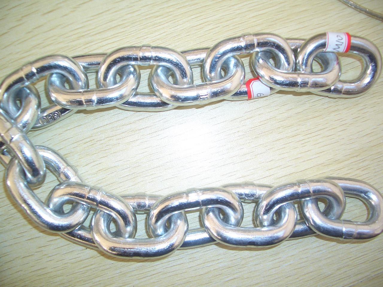DIN763 Short Link Chain