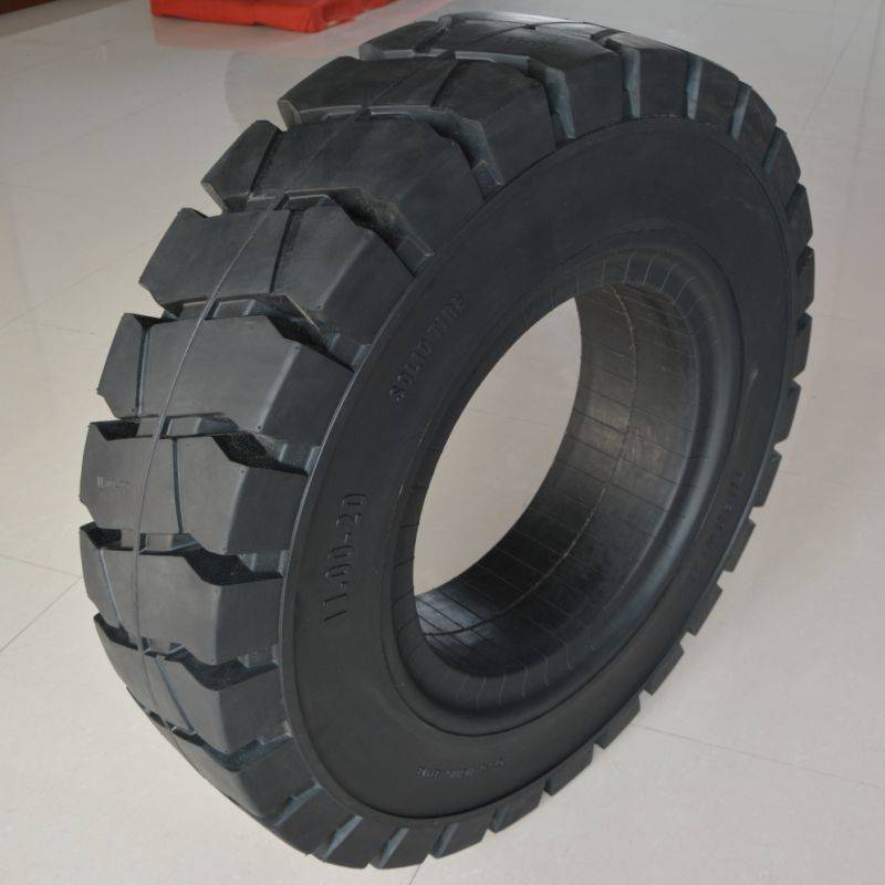 solid industrial tyre 11.00-20/7.50 for port steel mill