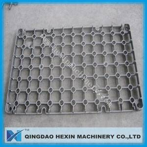 Base tray, grids and baskets, high alloy heat resistant casting base tray, grids and baskets