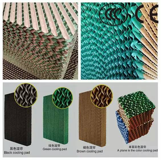 Greenhouse Coolingn System Evaporative Cooling Pad