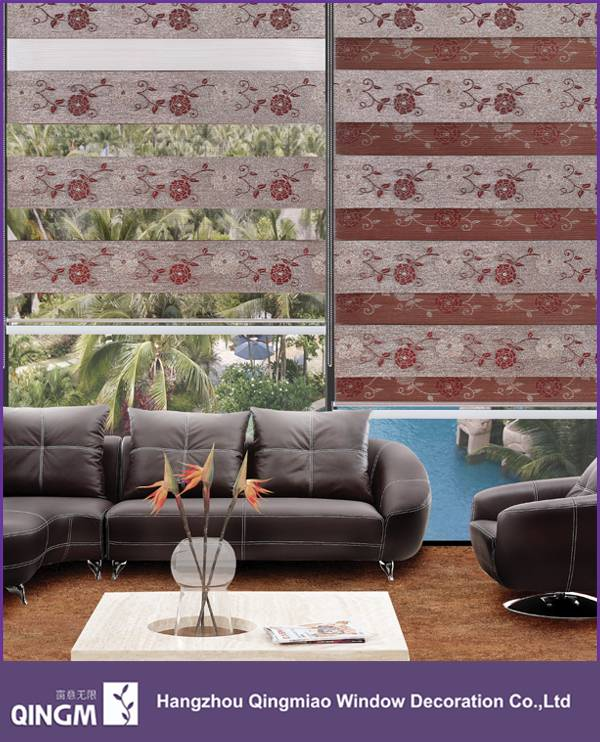 Roller Blinds Day Night Window Jacquard Curtain Popular In China