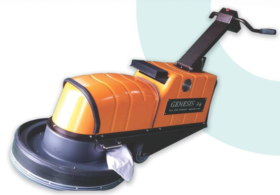 BATTERY FLOOR POLISHER
