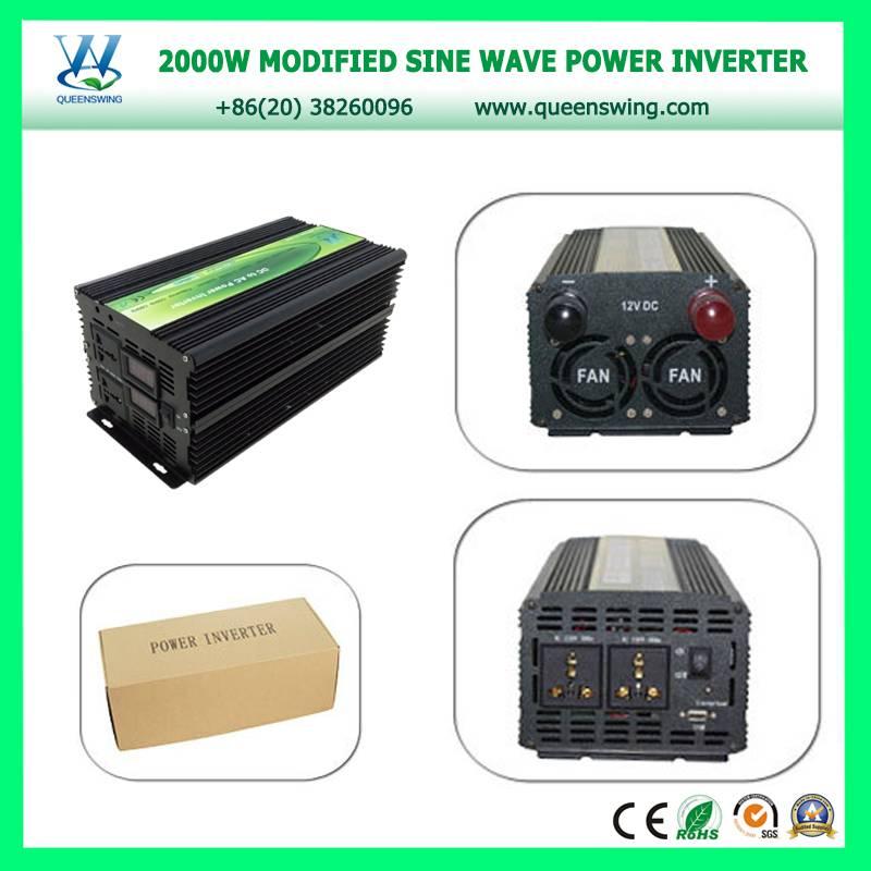 2000W 12VDC 220VAC Solar Power Inverter for emergency power supply system