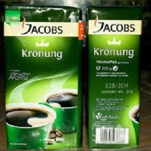 Jacobs Kronung ground coffee 250g / Jacobs Kronung ground coffee 500g