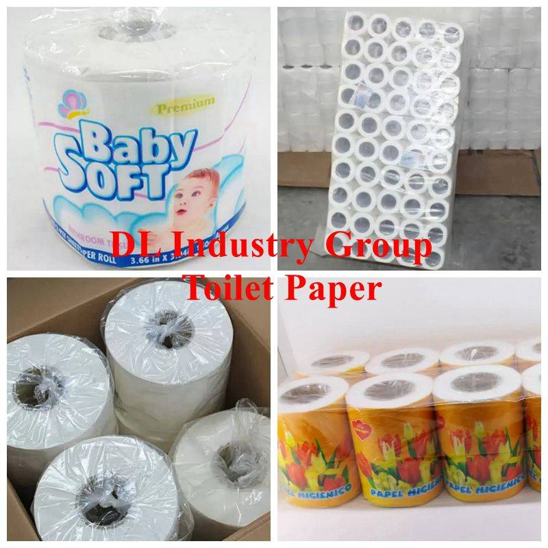toilet paper in small roll and jumbo roll, toilet tissue, napkin, kitchen towel and etc.
