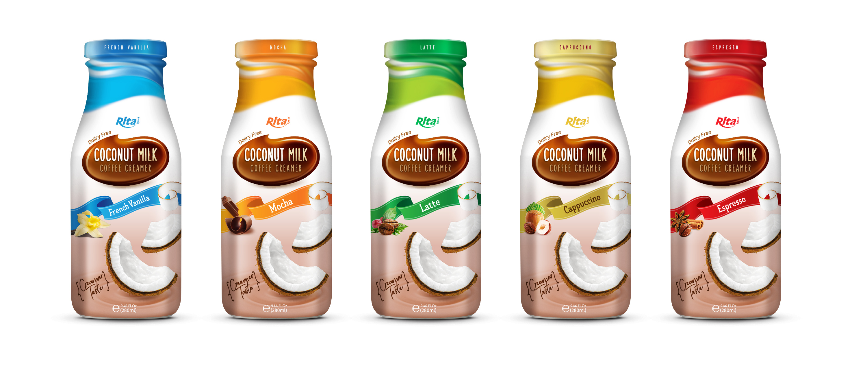 coconut creamer Coffee milk private label manufacturers