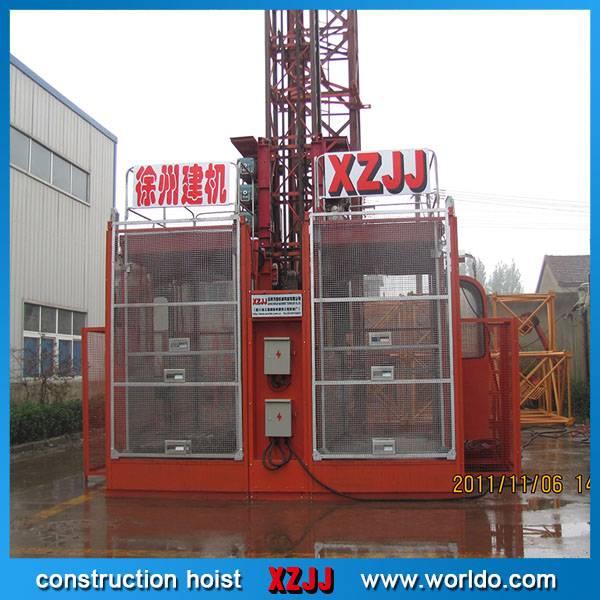 SC200/200 double cage construction hoist manufacture