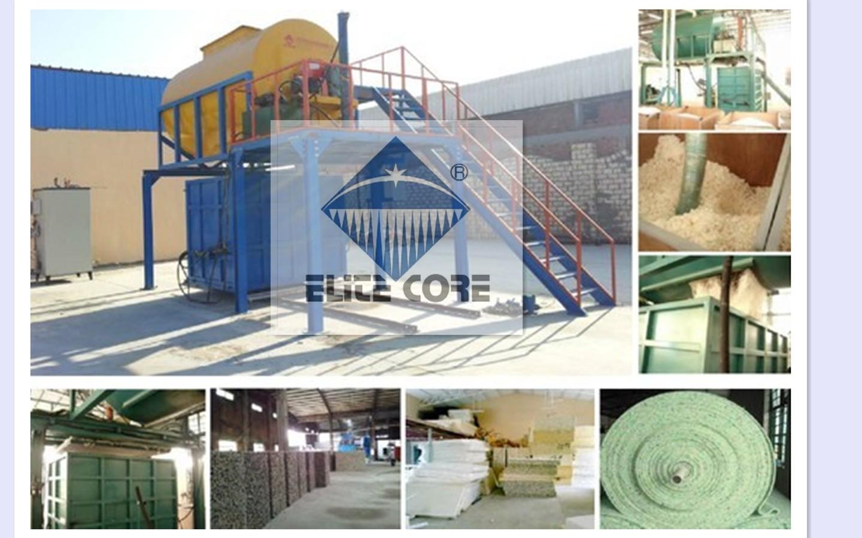 Rebonding Foam Machine(With Steam System)