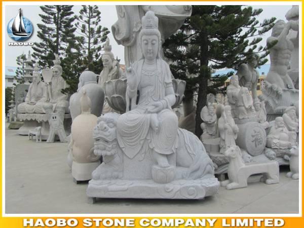 Stone Guanyin Statue Buddha Sculpture