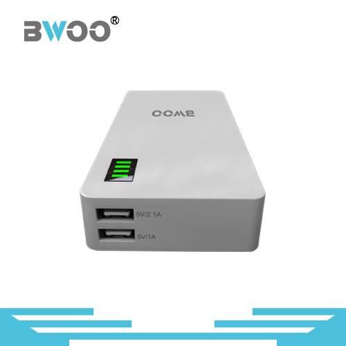 Mobile Charger 13000mAh 2 USB Power Bank with LCD Display