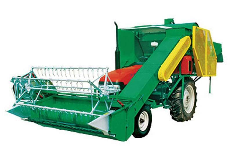 4LD-2 Grain Combine Harvester