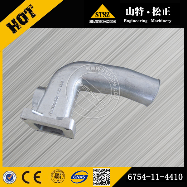 sell Excavator spare parts PC200-8 air intake connector 6754-11-4410(Email:bj-012#stszcm.com)