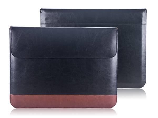 "IDPRO910 13"" Leather laptop sleeve"