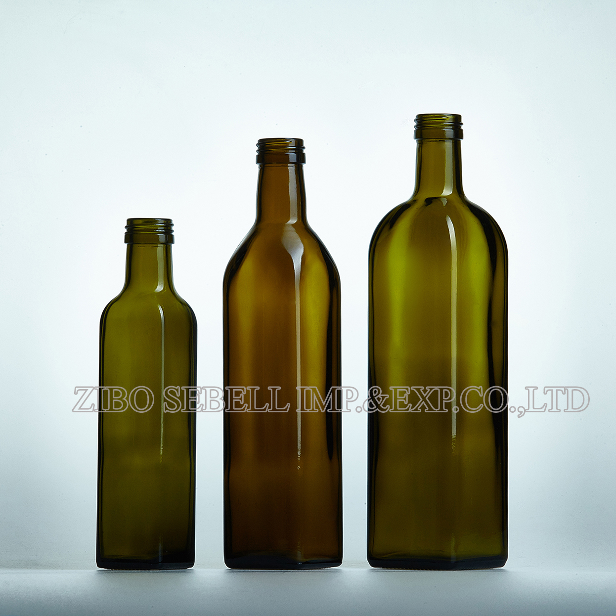 250ml screw top olive oil glass bottle