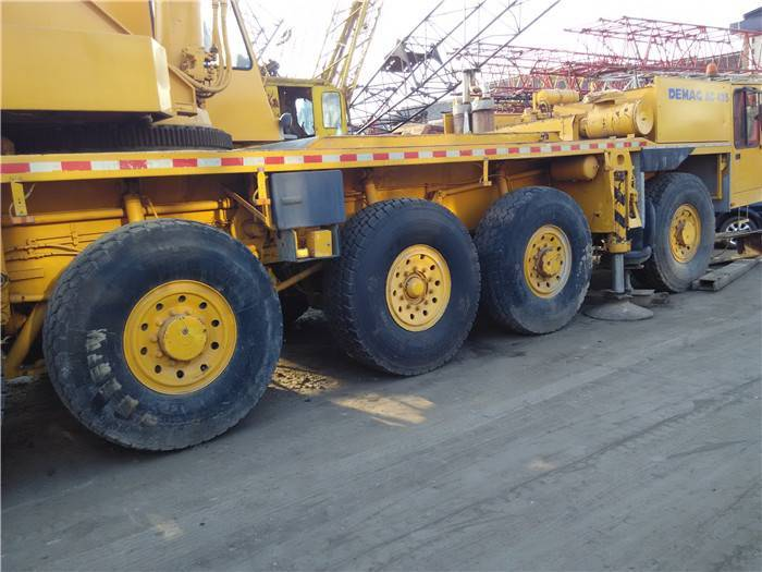 USED AC 435 USED ALL TERRAIN CRANE FOR SALE IN LOW PRICE WITH HIGH QUALITY