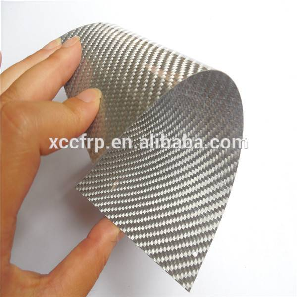 0.15mm 0.2mm 0.3mm 0.4mm 0.5mm Colored carbon fiber flexible sheet/veneer manufacturer