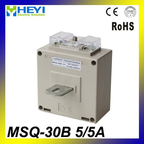 low voltage current transformer with busbar