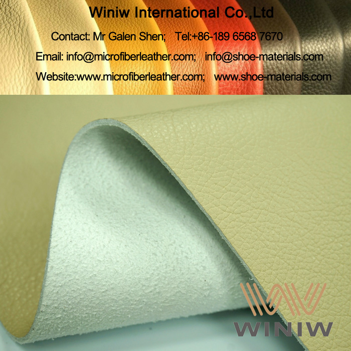 High Quality Vinyl Faux Leather Upholstery Fabric for Cars