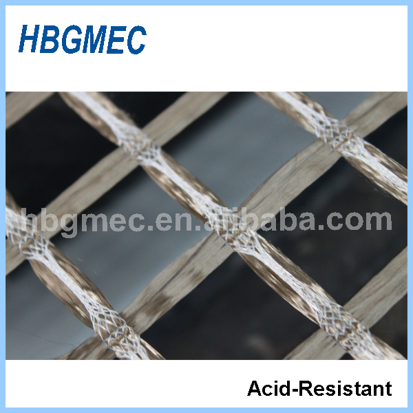 Basalt fiber geogrid used in construction building