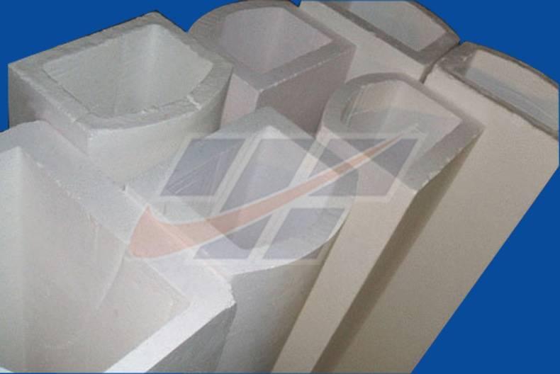 U-shaped corundum funace tube