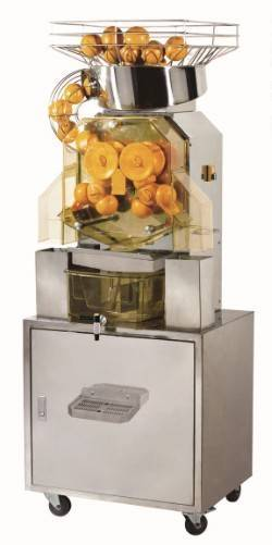 Sell free-standing orange juice squeezing machine