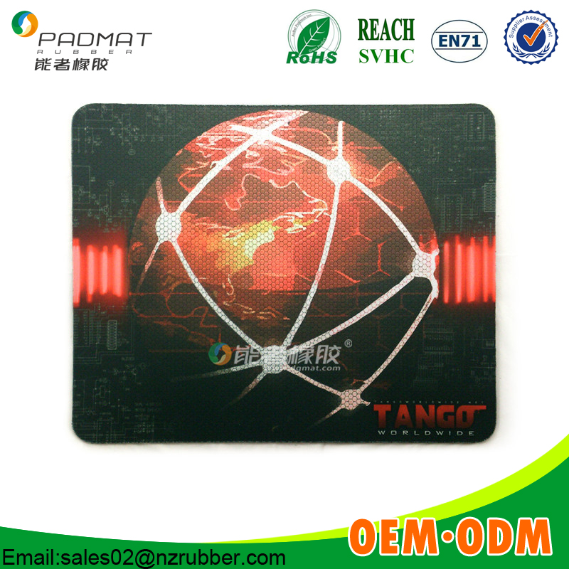 Factory good quality OEM full printing the mouse pad dongguan