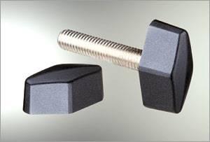 high quality plastic handle adjustable knob screw for cabinet