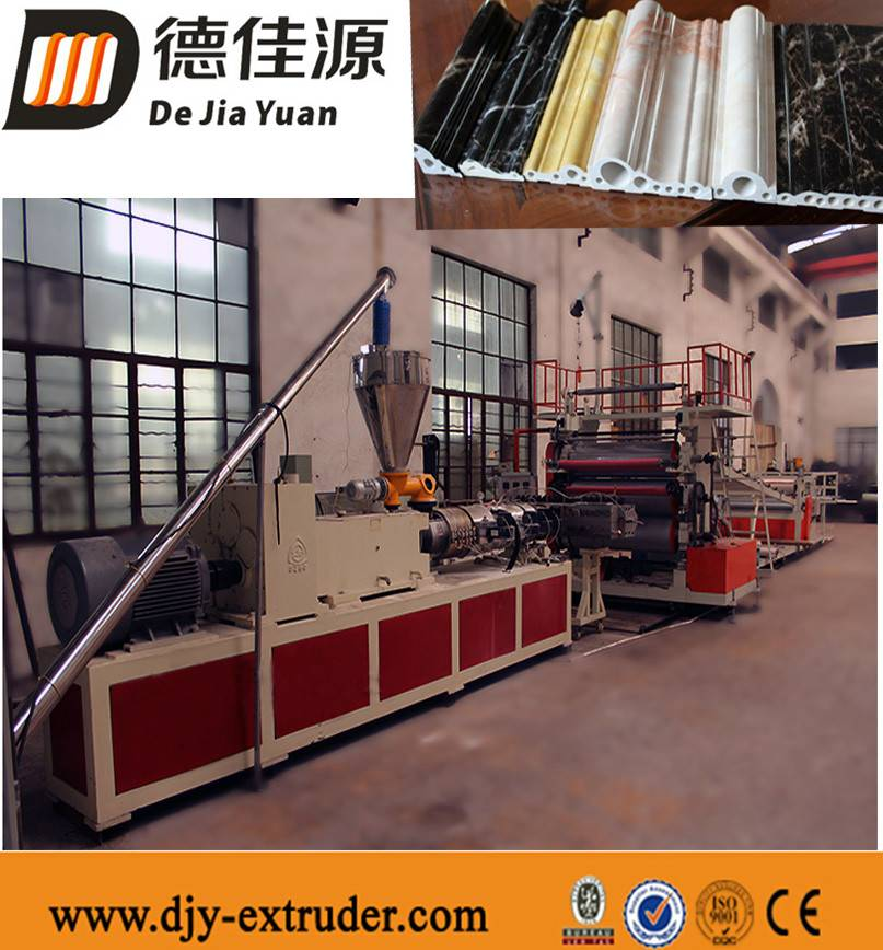 PVC imitation marble extrusion production line