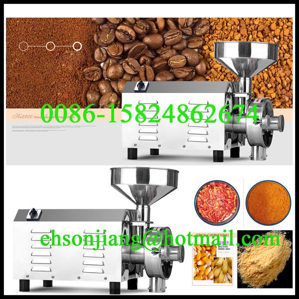 small electric corn mill corn flour mill machine grain grinder for sale