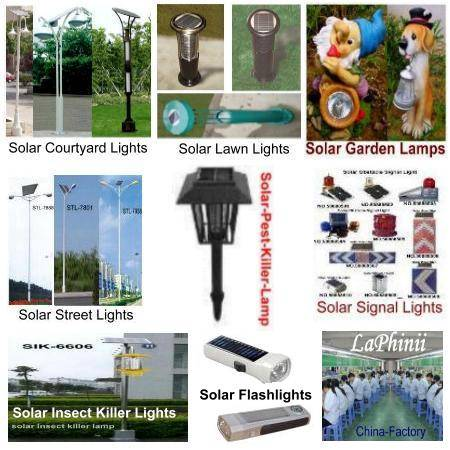 Solar Lamps - Solar Lights