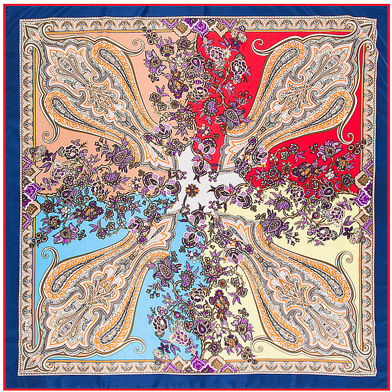 muslim islamic art silk scarf silk scarves