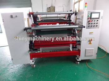 China  Automatic Jumbo Roll Paper Slitting Rewinding Machine