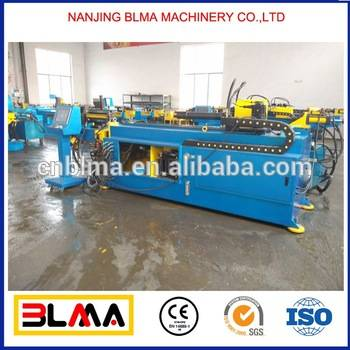 Chinese BLMA brand profile steel pipe bending machine hydraulic used, tube bender machine