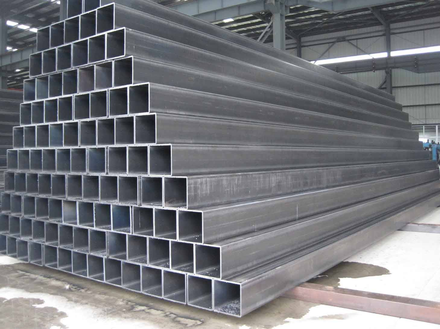 S235jr ERW Square Weld Steel Tube in China Dongpengboda