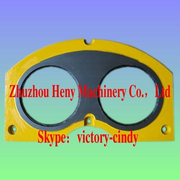 Cifa Concrete Pump Spare Part Carbide and Hardfacing Spectacle Wear Plate and Cutting Ring