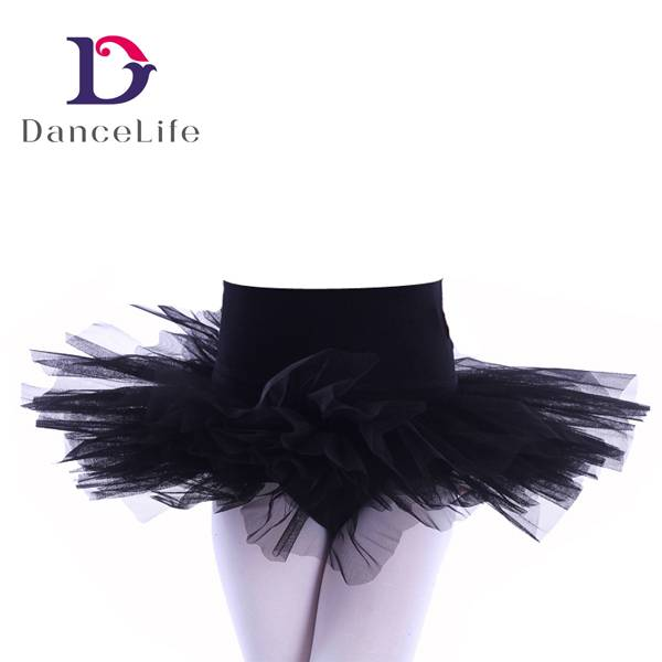 ballet skirt with 4 layers of tulle